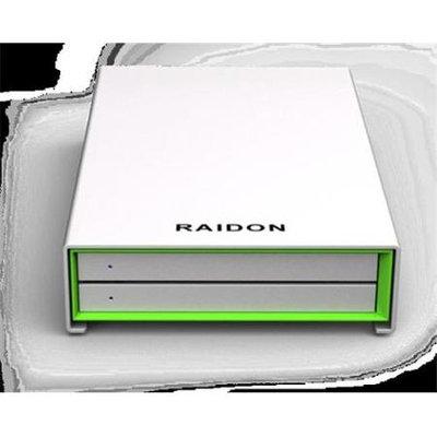 RAIDON GR2660-B3 2Bay RAID 2.5 in. SATA III HDD-SSD to USB3.0 Enclosure - 6Gbps-UASP