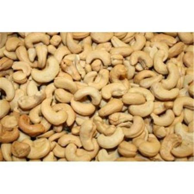 Bulk Nuts 100 percent Organic Whole Cashews Fancy Roasted No Salt 25 Lbs - SPu659367