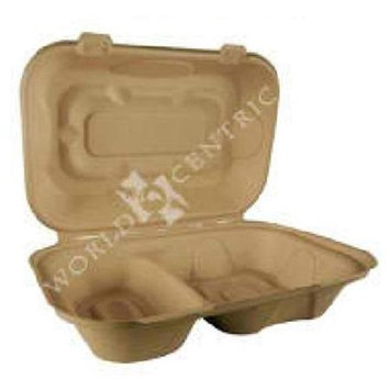 World Centric Takeout Bx Double Compt (10x50 CT)