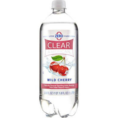 Sam's Choice Clear American Wild Cherry Sparkling Water, 33.8 fl oz