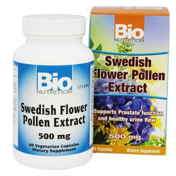 Bio-nutrition Bio Nutrition Swedish Flower Pollen Extract 500 mg - 60 Capsules