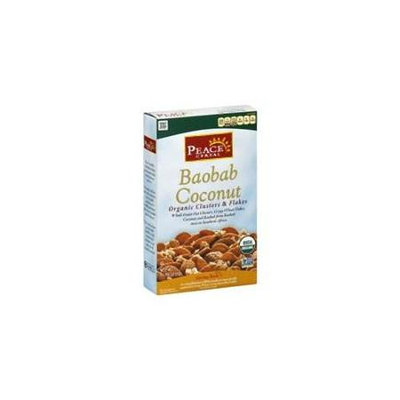 Peace Cereal Organic Clusters & Flakes Baobab Coconut - 11 oz
