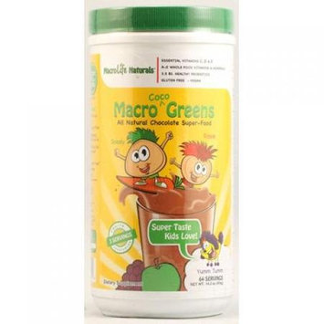 Macrolife Naturals Inc MacroLife Naturals - Macro Greens For Kids Coco - 14.2 oz.