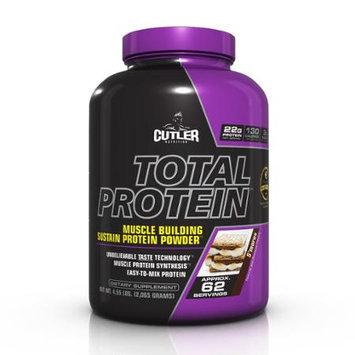 Cutler Nutrition Total Protein Powder, S'mores, 4.5 Pound