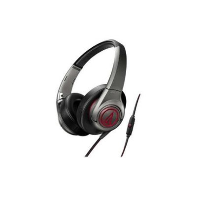 Audio-technica AudioTechnica ATH-AX5iS SonicFuel Over-Ear Headphones (Gray)