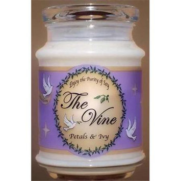 The Vine Candles 09409X Jar Petals And Ivy Soy Candle 12 Oz