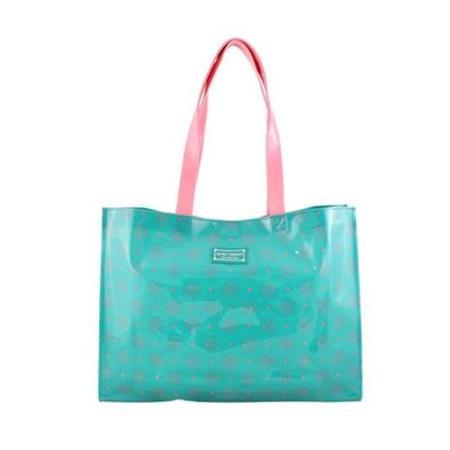 Jacki Design AHL38025EM Cosmopolitan Tote Bag Emerald
