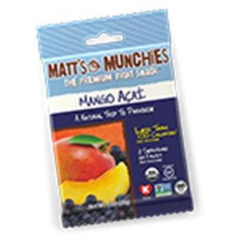 Matt's Munchies - Premium Fruit Snack Mango Açai