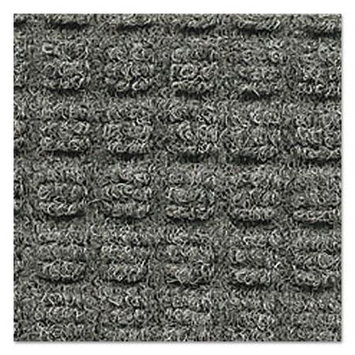Ludlow Composites Corp. CRO SSR046 MGR Crown Super-Soaker Indoor Wiper-Scraper Mat 4' x 6' - Medium Gray