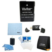 Special Loaded Value EN-EL14 Battery Kit for the Nikon p7000, p7100, d3200, d5200