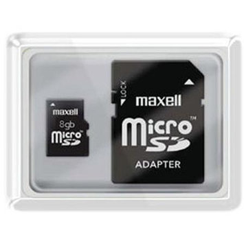 Maxell 8GB MicroSD High Capacity (microSDHC) - 1 Card
