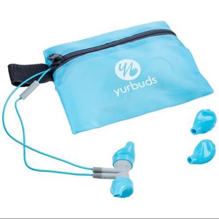 Yurbuds - Inspire 300 Women's Earbud Headphones - Aqua