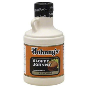 Johnny's Fine Foods Johnnys Fine Foods Sauce Slppy Johnny Concen 8 Oz Pack Of 6