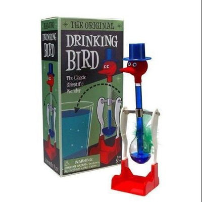 Westminster Inc. The Original Drinking Bird Toy - Classic Perpetual Motion Machine Decor