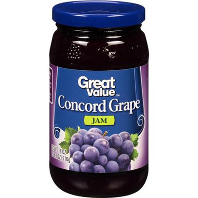 Great Value: Concord Grape Jam, 18 oz