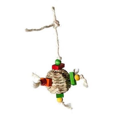 Caitec Hay Ball 6.5in x 5in Bird Toy