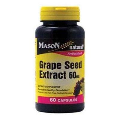 Grape Seed Extract 60 mg, 60 Capsules, Mason Natural
