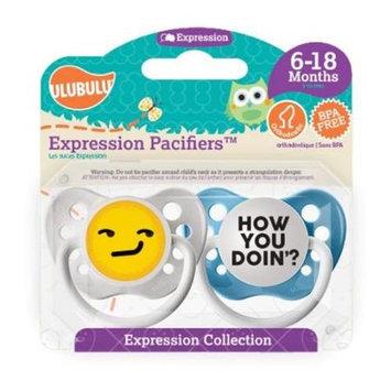 Ulubulu MP-01-1-H-1-062 How You Doin Emoji 6-18M - Boy