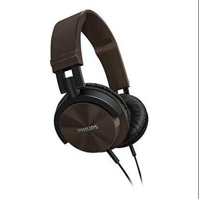 Philips SHL3000/BR Dj Monitor Style Headband Headphones - Brown