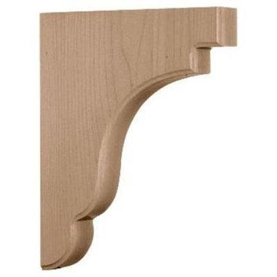 Ekena Millwork 1.75-in x 11-in Cherry Bedford Wood Corbel