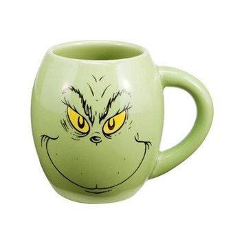 Vandor Dr. Seuss The Grinch Oval Mug