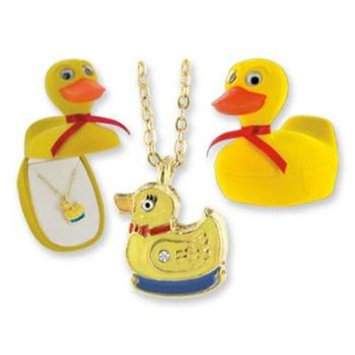 DDI 433664 Duck Animal Necklace in Duck Box Case Of 24