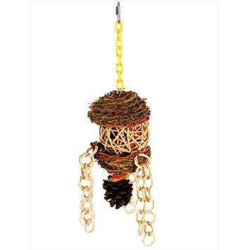 Caitec Bird Toys Caitec 684 5 in. x 15 in. Overflow Wreath