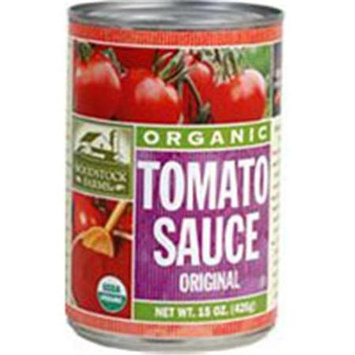 WOODSTOCK FARMS Organic Tomato Sauce 15 OZ
