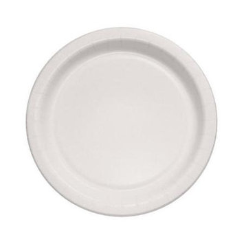 SOLO Cup Company Bare Eco-Forward Clay-Coated Paper Dinnerware, Plate, 8 1/2 dia, 125/Pack