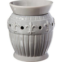 Cypress Drop Fleur De Lis Ceramic Hurricane