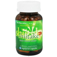 Eclectic Institute Shiitake - 50 Capsules - Mushroom Combinations