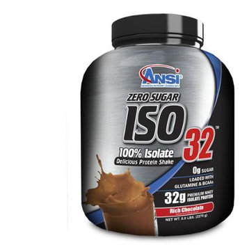 ANSI Advanced Nutrient Science - Iso 32 Whey Protein Isolate Powder Rich Chocolate - 5 lbs.