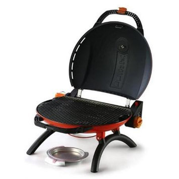 Portable Gas BBQ Grill 900 with Thermometer