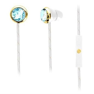 Kiddesigns Cinderella Fashion iHome Noise Isolating Ear Buds with Built-in Mic and Travel Case