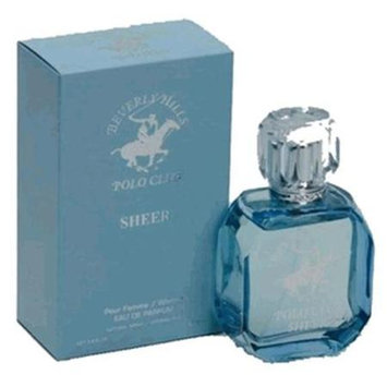 Beverly Hills Polo Club Sheer by Beverly Hills Polo Club, 3.4 oz Eau De Parfum Spray for women