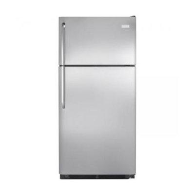 Frigidaire - 18.0 Cu. Ft. Top-freezer Refrigerator - Stainless-steel