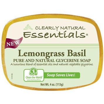 Glycerine Bar Soap Lemongrass Basil 4 OZ from Citrus Magic