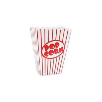 Unique Industries 401627 Small Popcorn Boxes 5 in. x 3.75 in. x 2 in. 8-Pkg