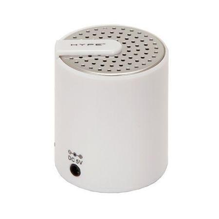 Hype HY-525-BT Portable Mini Bluetooth v2.0 Speaker (Salt White)