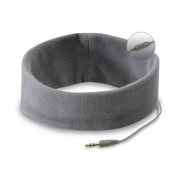 SleepPhones Headphones Microphone 1 Size Fits Most Headphone - Gray SM4GM