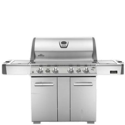 Napoleon M605RSBINSS-2 Mirage Gas Grill with Rear Infrared Burner