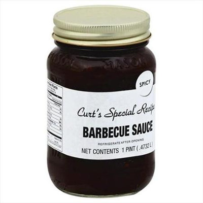 Curts Salsa 16 oz. Barbecue Spicy Sauce Case Of 6