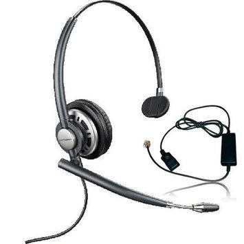 Plantronics Encore Pro HW710 with A10 Monaural Noise-Cancelling Headset