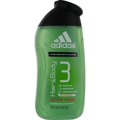 Adidas Hair & Body 3 Active Start Shower Gel & Shampoo