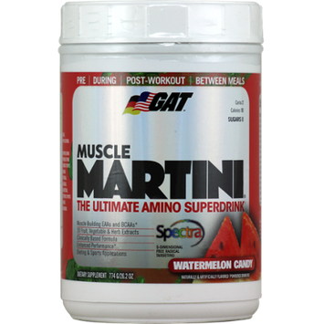 GAT Muscle Martini Watermelon Candy 62 Servings