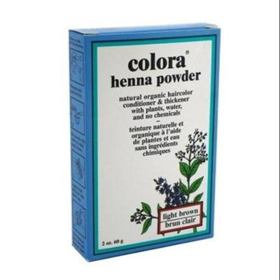 Colora Henna Veg-Hair Light Brown 2 oz.