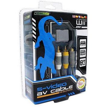 Komodo Wii S-Video & AV SAV Cable (KMD)