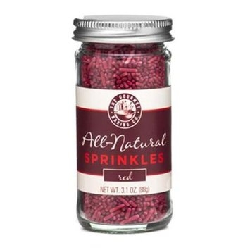 Pepper Creek Farms 300F All Natural Red Sprinkles - Pack of 12