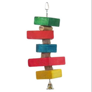 Yml Single Strip Bird Toy, Made In America, Hanging Toy, Medium, Large, Trimming, Wood, Birds