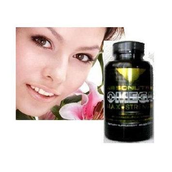 2 bottles-Absonutrix Omega 3 Max Strength Fish Oil EPA-800 DHA-600 Pharmaceutical Grade